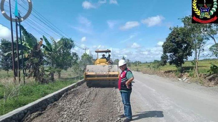 Keseriusan Pemprov Sulsel Tangani Ruas Impa-Impa - Anabanua Wajo, Anggarkan Rp14 M Tahun Ini
