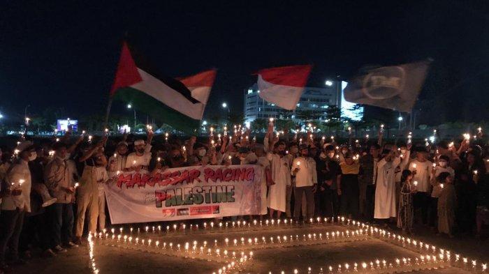 Makassar Racing dan Pecinta Otomotif Gelar Aksi Solidaritas untuk Palestina