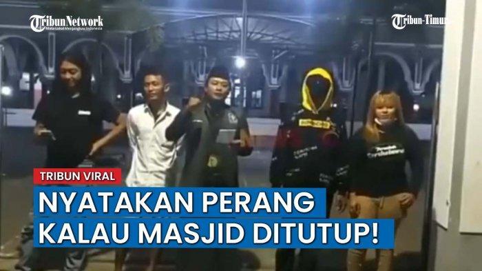 VIDEO Viral Pemuda di Situbondo Nyatakan Perang Jika Masjid Ditutup Imbas PPKM Darurat