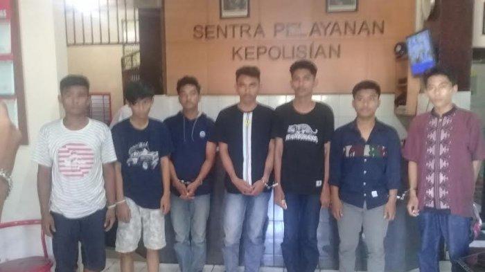 BREAKING NEWS: Ini Identittas 9 Pemuda yang Diamankan Polsek Mamajang, Ada Bawa Busur
