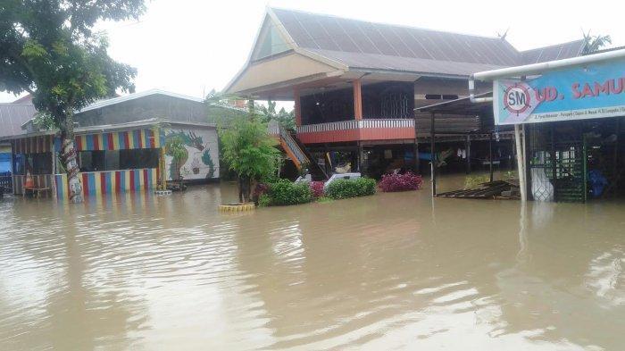 2.692 KK di Barru Terkena Banjir, Terparah Soppeng Riaja