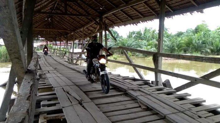 Penampakan Jembatan Berbayar di Luwu, Mobil 150 Ribu Jalan Kaki Rp 2 Ribu