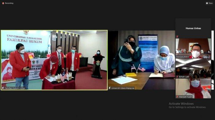 Fakultas Hukum Unhas dan UUM Kerja Sama Pengembangan Tridarma