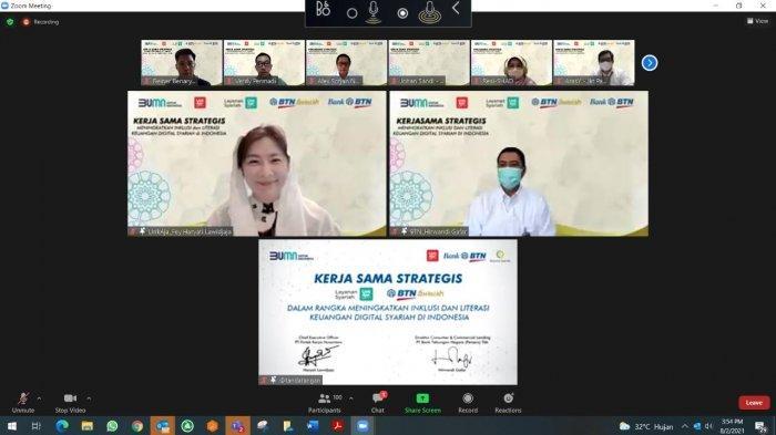 LinkAja-BTN Syariah Permudah Transaksi Digital