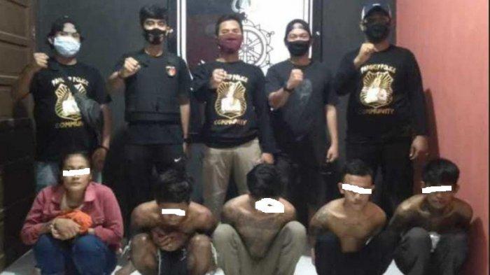 Patroli Vandalisme, Polres Pangkep Amankan Residivis Curas