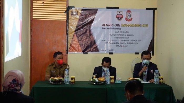 Dukung PPKM Level 4 Makassar, Unibos Tarik 271 Mahasiswa KKN Angkatan 50
