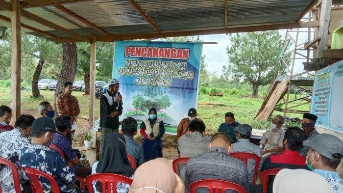 Pencanangan Kampung Literasi Bukit Ompoe
