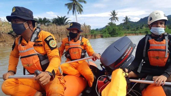 Hari Kedua Operasi Pencarian, Korban Tenggelam di Sungai Budong-budong Belum Ditemukan