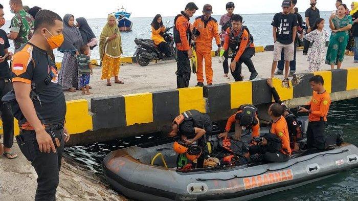 Tim SAR Kesulitan Temukan Sampara, Korban Tenggelam di Laut Arpal Jeneponto