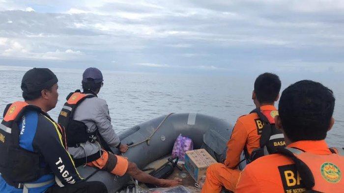 Basarnas Mamuju Bagi 2 SRU Pencarian Nelayan Hilang di Mamuju Tengah