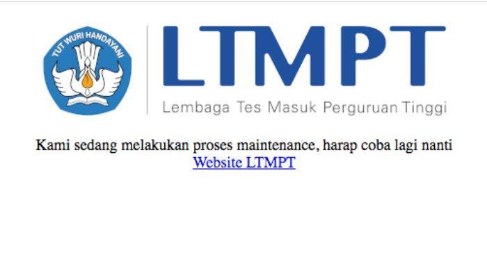Pendaftaran SBMPTN 2021 di portal.ltmpt.ac.id Tak Bisa Dilakukan karena Maintenance, Apa Itu?
