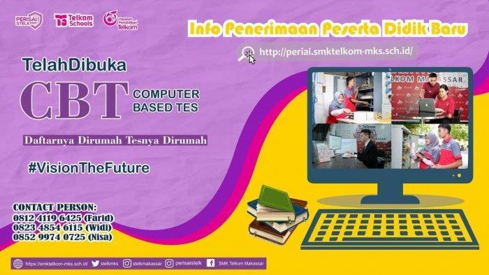 SMK Telkom Makassar Kelas XI Ikuti Ujian Praktik Kompetensi (UPK) 2020/2021