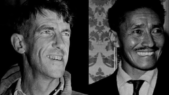 68 Tahun Lalu, 2 Orang Inilah yang Pertama Kali Mencapai Puncak Gunung Everest