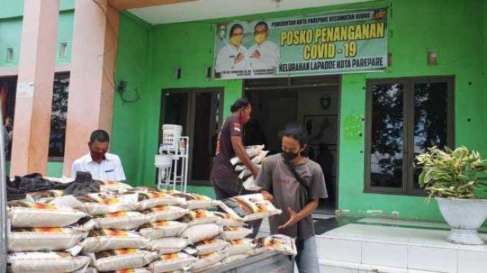 2.074 Keluarga Penerima Manfaat di Parepare Dapat Bantuan Beras