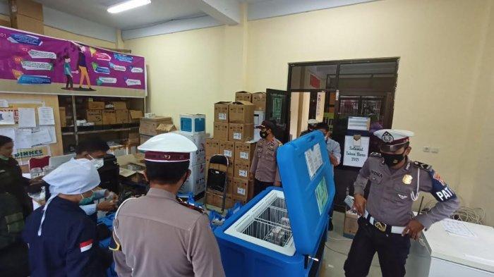 Dinkes Mamasa Distribusikan Vaksin Tahap Kedua di Delapan Puskesmas, Sasarannya ASN dan TNI/Polri