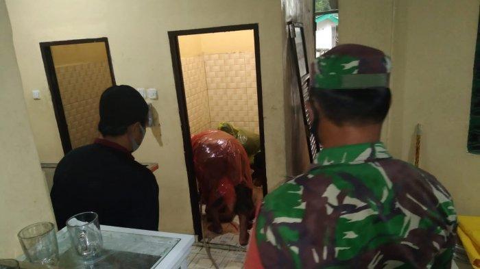 Mayat yang Ditemukan di Toilet Masjid Nurul Ulya Sukamaju Sehari-hari Sebagai Cleaning Service