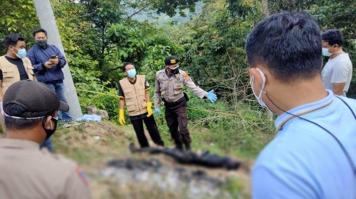 Polisi Temukan Botol Bensin Tak Jauh dari Lokasi Penemuan Mayat yang Hangus Terbakar di Mallawa