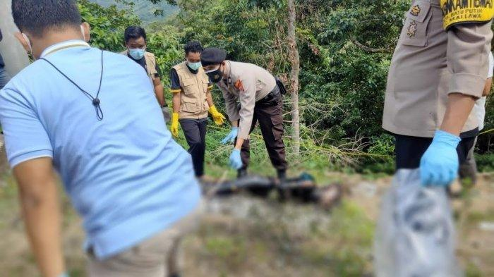 Geger Penemuan Mayat Terbakar di Mallawa Maros, Diduga Korban Pembunuhan