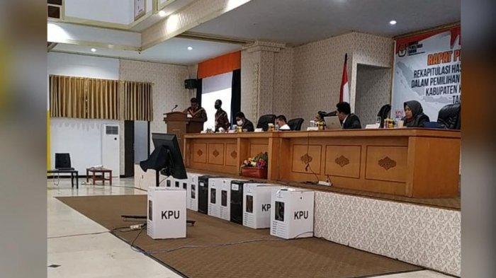 Pleno Rekapitulasi Pilkada Selayar, Basli Ali-Saiful Arif Raih 48.592 Suara Sah