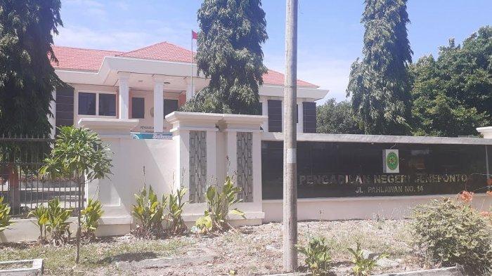Sterilisasi Ruangan, PN Jeneponto Lockdown Selama Tujuh Hari