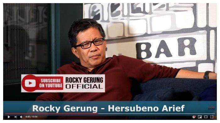 Rocky Gerung Ungkit Kampanye Pemilu 2019 Presiden Jokowi Soal Kartu Gratis, Ini Komen Menohoknya