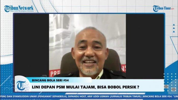Lawan Persik Kediri, Berikut Masukan Syamsuddin Umar untuk PSM Makassar