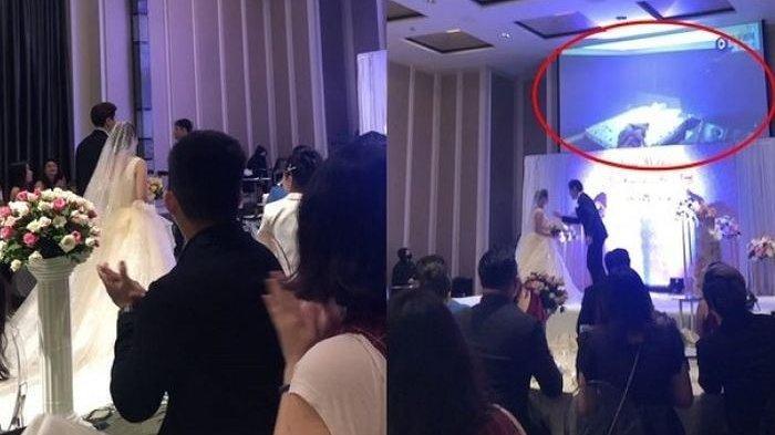 Acara Pernikahan Kacau Balau, Pengantin Pria Putar Video Perselingkuhan Istri dan Kakak di Resepsi