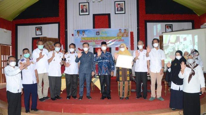Pemkab Enrekang Raih Penghargan Anugerah Parahita Ekapraya Kategori Pratama