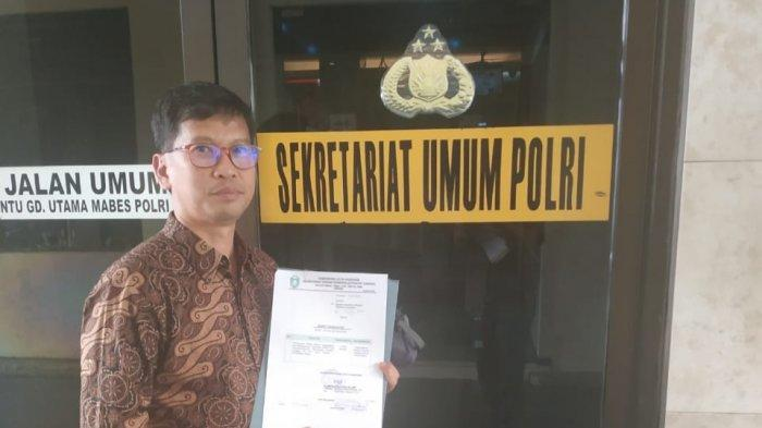 Sekretariat DPRD Parepare Antar Pernyataan Mahasiswa Se-Ajatappareng ke KPU RI dan Mabes Polri
