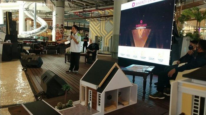 Pengembang properti dalam Sinergy Land menggelar Grand Launching dan Gathering Akbar Project Property Syariah di Atrium Nipah Mall, Jl Urip Sumoharjo, Makassar, Sulsel, Minggu (13/9/2020).