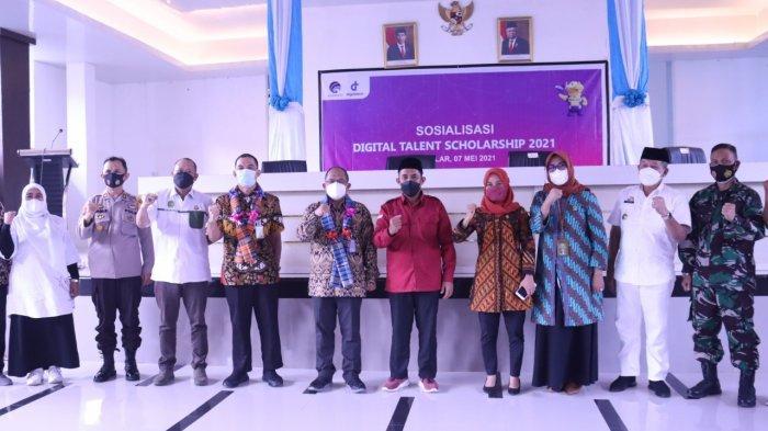 Digital Talent Scholarship 2021, Wabup Takalar Harap Tingkatkan Kualitas Digital Masyarakat