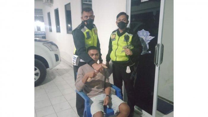 Bawa Badik saat Mengendarai Motor, Warga Lanto Daeng Pasewang Bulukumba Ditangkap Polisi