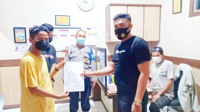 Tak Pakai Helm dan Masker, Pemuda Parepare Tabrak Polisi