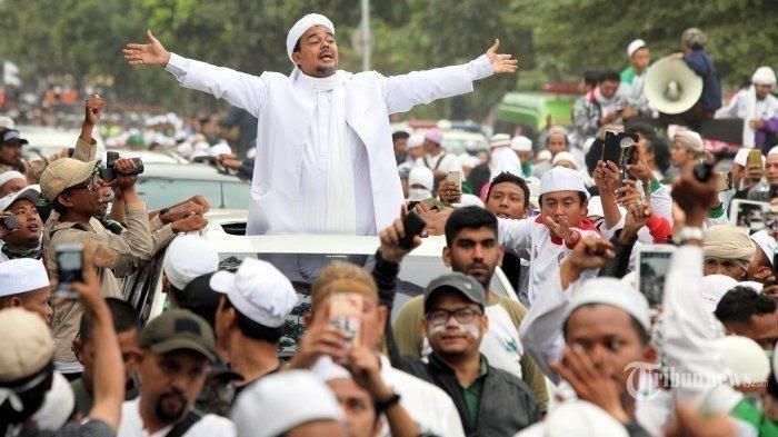 Live Streaming Demo 1812 Desak Kapolri Jenderal Idham Azis Bebaskan HRS & Usut Penembak 6 Laskar FPI