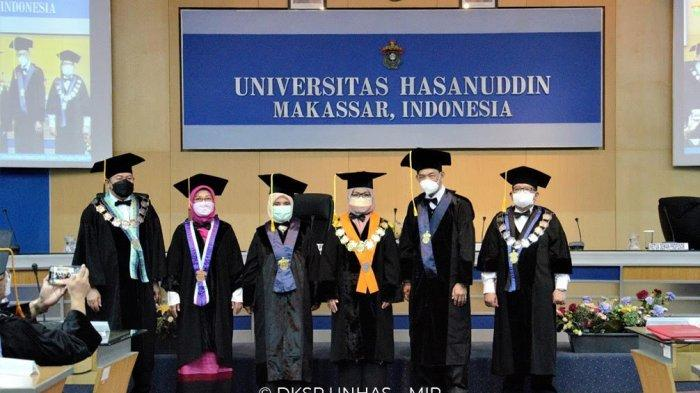 Unhas Kukuhkan Dua Guru Besar Fakultas Teknik