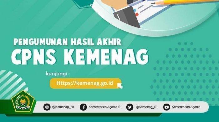 Pengumuman Hasil Seleksi Administrasi CPNS Kemenag 2019 Hari Ini, Bisa Cek di Portal Resmi SSCASN
