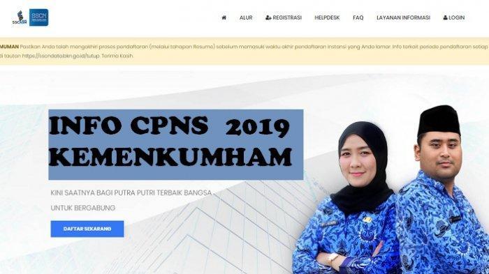 45++ Hasil cpns kemenkumham sma 2019 cpns 2021