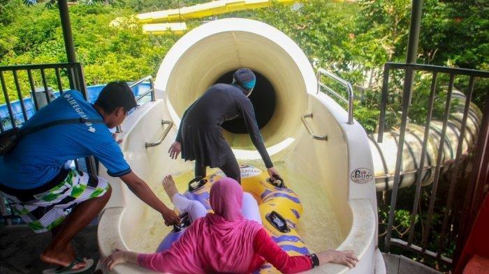Tiket Masuk Bugis Waterpark Adventure Rp 150 Ribu, Berlaku untuk Seluruh Wahana