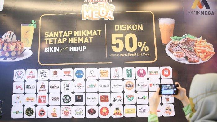 FOTO: Makan Bareng Mega di TSM Diskon 50 Persen Hingga Akhir Tahun 2021