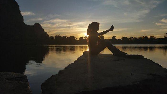 Yuk Berkunjung ke Destinasi Wisata Danau Cinta Pangkep, Cocok Bagi Para Penikmat Senja