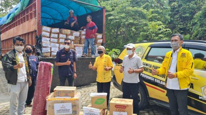 Golkar Sulbar Bakal Santuni Keluarga Korban Meninggal Dunia Akibat Gempa