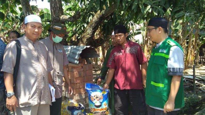 Wahdah Islamiyah Sidrap Serahkan Bantuan Buat Pengungsi Sulteng di Panca Rijang dan Baranti