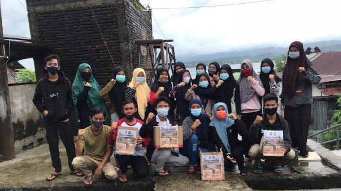 OSIS SMK 7 Pinrang Galang Dana untuk Korban Gempa Sulbar