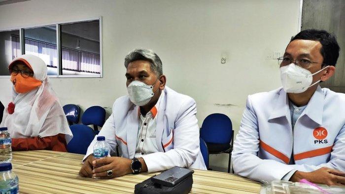 FOTO: Usai Dilantik Virtual, Pengurus PKS Sulsel Silaturahmi ke Kantor Tribun Timur