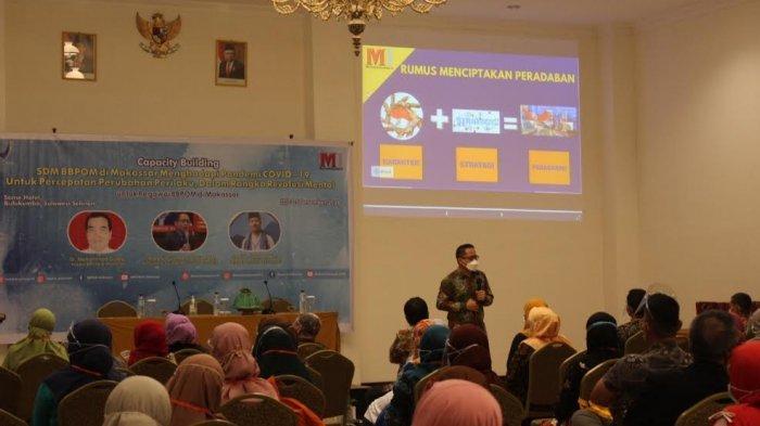 BBPOM Makassar Gandeng Motivasi Indonesia Tingkatkan SDM Pegawai