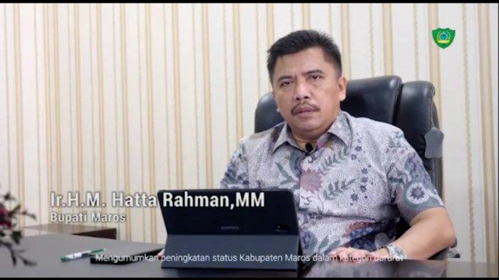 3 Warganya Positif Corona, Hatta Rahman Tingkatkan Status Kabupaten Maros ke Level Waspada