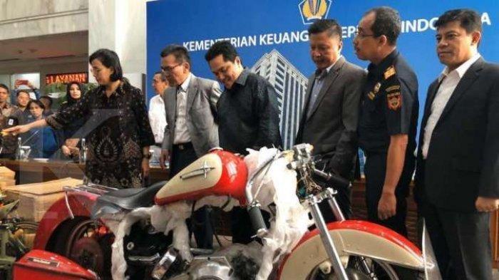Harley dan Brompton Diselundupkan Dirut Garuda, Sri Mulyani Sebut Kerugian Negara Capai Rp1.5 Miliar
