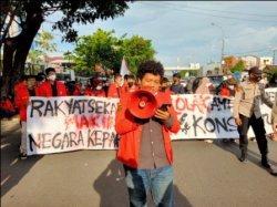 Mahasiswa Unhas Tolak Jokowi 3 Periode, Berikut 7 Poin Tuntutannya