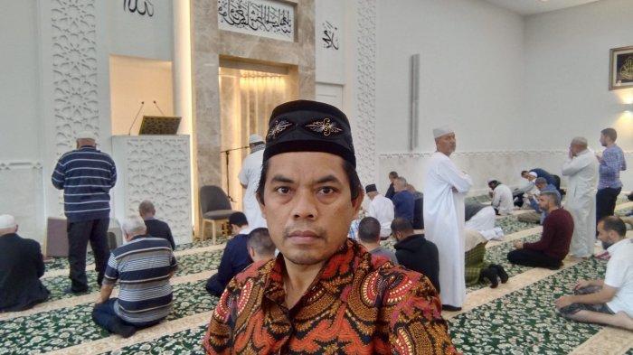 Penulis saat Salat Jumat di Condell Park Mosque, Sydney, Australia, 30 April 2021