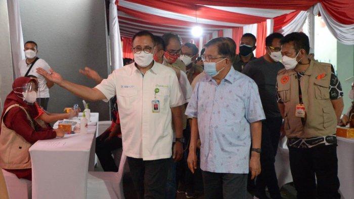 IKA Unhas Gelar Vaksinasi Covid-19, Jusuf Kalla dan Syahrul Yasin Limpo Hadir
